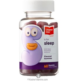Chapter One Chapter One S is for Sleep Melatonin 60 Gummies