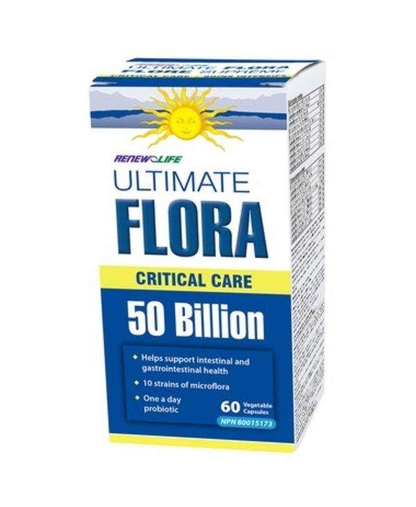 Renew Life Ultimate Flora Critical Care 50 Billion 60caps