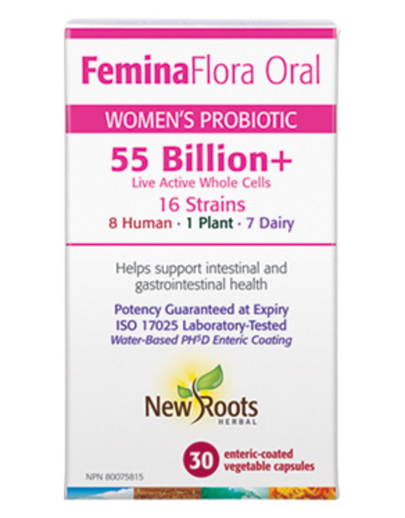 New Roots FeminaFlora Oral 30caps