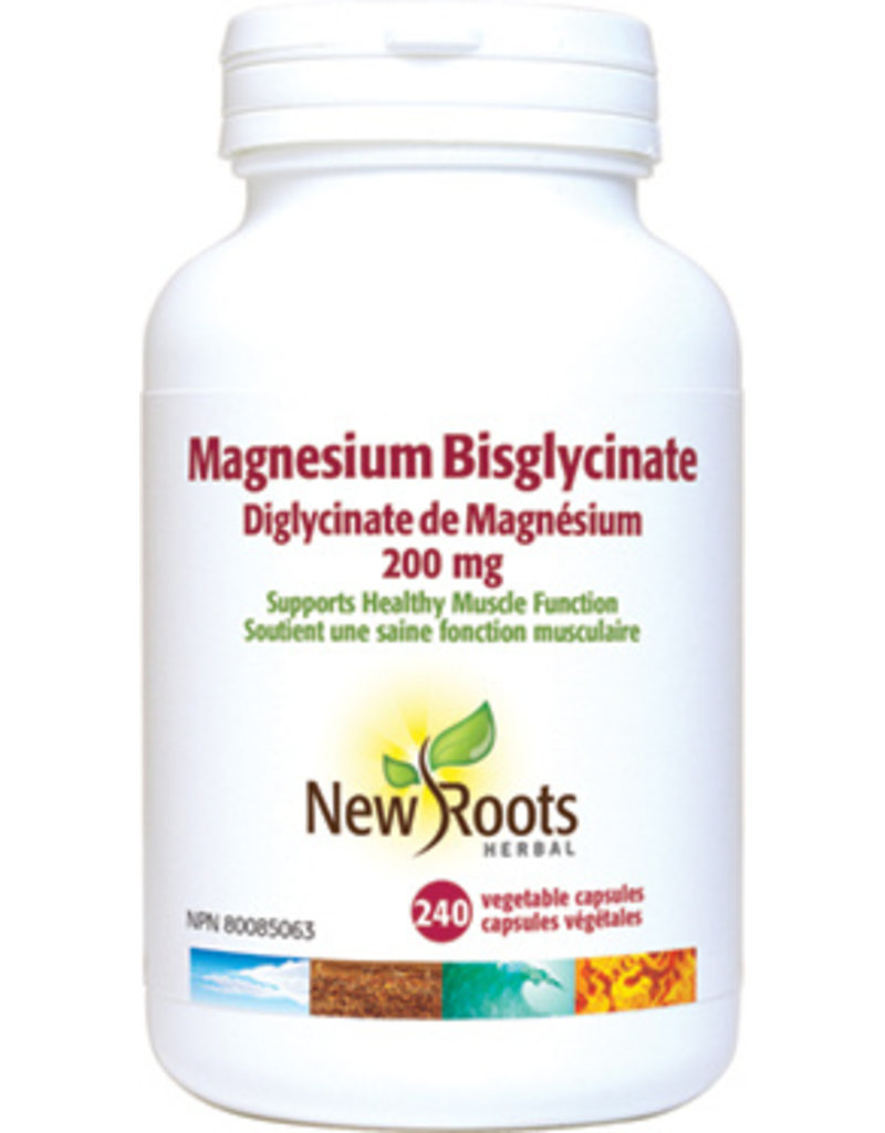 New Roots New Roots Magnesium Bisglycinate 200mg 120 caps