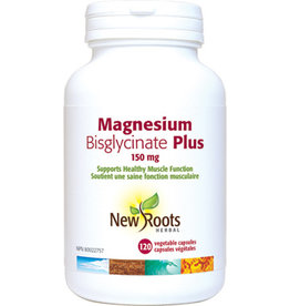 New Roots New Roots Magneisum Bisglycinate Plus 150mg 60 caps