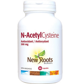 New Roots New Roots N-Acetyl Cysteine 500mg 90 caps
