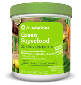 Amazing Grass Amazing Grass Green Superfood Energy Lemon-Lime 210g