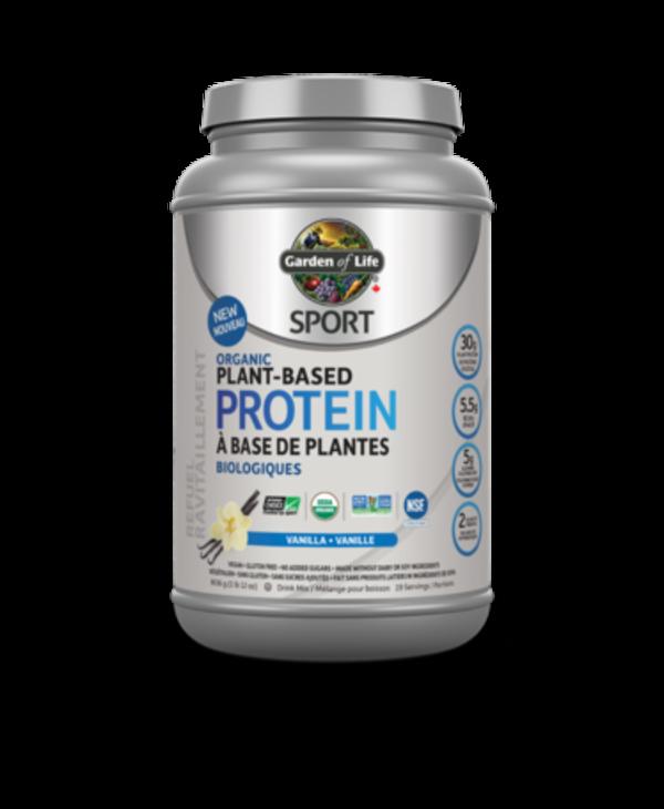 Sport Organic Plant-Based Protein- Vanilla 806g