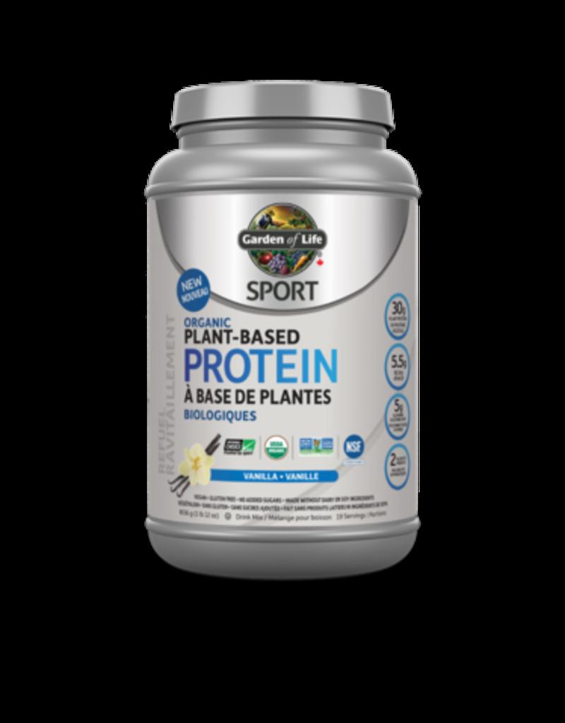 Garden Of Life Sport Organic Plant-Based Protein- Vanilla 806g