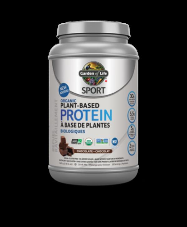 Sport Organic Plant-Based Protein- Chocolate 840g