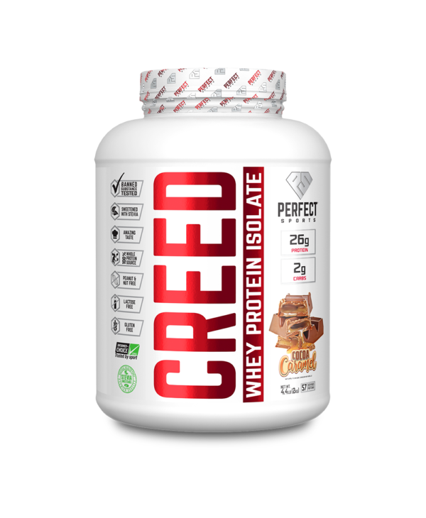 Creed Whey Protein Isolate- Cocoa Caramel 1.6 lbs