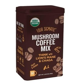 Four Sigmatic Four Sigmatic Mushroom Coffee with Lion's Mane - Tin 30 servings