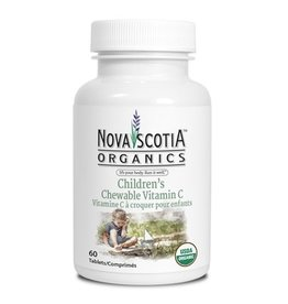 Nova Scotia Organics Nova Scotia Organics Children's Chewable Vitamin C 60tabs