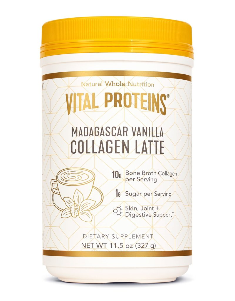 Vital Proteins Collagen Latte- Madagascar Vanilla 327g