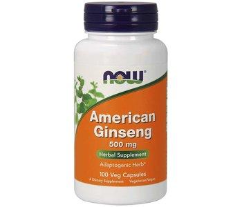 American Ginseng 500mg 100 caps