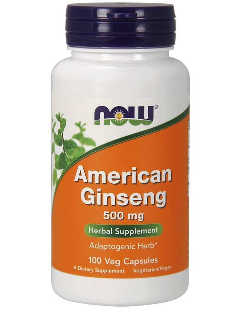 NOW American Ginseng 500mg 100 caps
