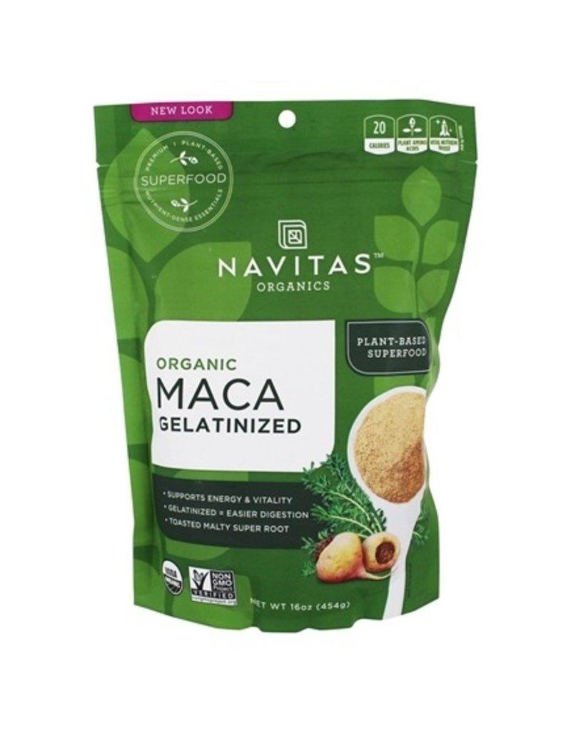 Navitas Naturals Organic Maca Gelatinized 454g