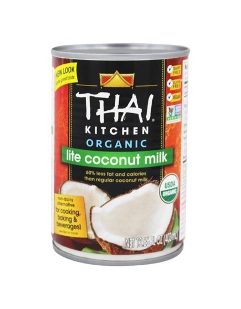 Thai Kitchen Thai Kitchen Organic Coconut Milk- Lite 400ml