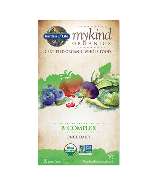 My Kind Organics Vegan B-Complex 30 tabs