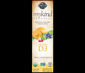 My Kind Organics Vegan D3 Organic Spray 58ml