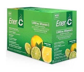 Ener-C Vitamin C 1000mg-Lemon Lime 30 packets