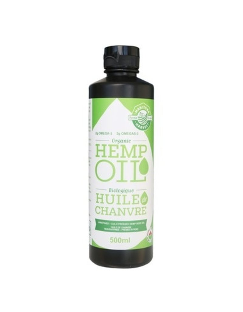 Manitoba Harvest Manitoba Harvest Organic Hemp Oil Cold Pressed 500ml