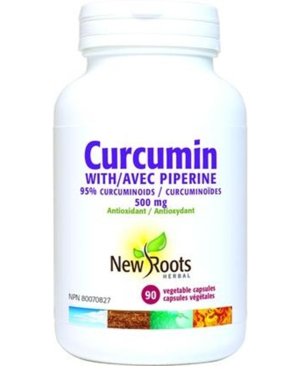 New Roots Curcumin with Piperine 90caps