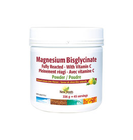New Roots New Roots Magnesium Bisglycinate Powder 226g