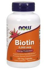 NOW NOW Biotin 5000mg 120caps