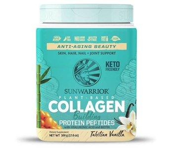 Sunwarrior Plant Based Vegan Collagen Building Protein- Tahitian Vanilla 500g