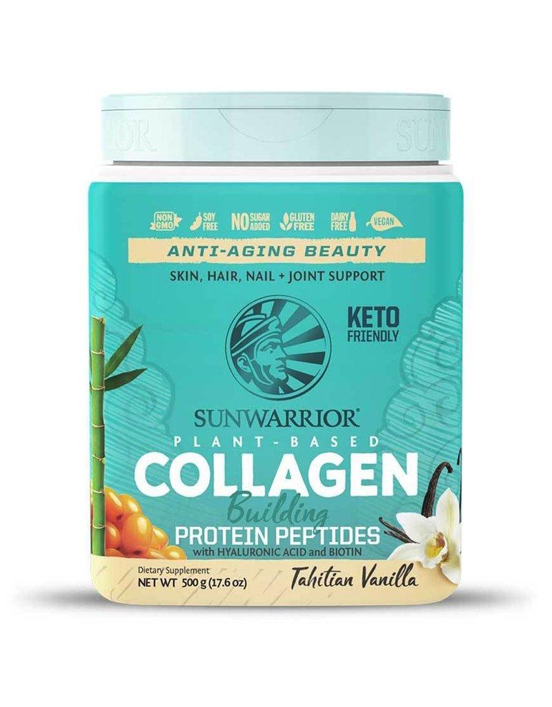 Sun Warrior Sunwarrior Plant Based Collagen Building Protein- Tahitian Vanilla 500g