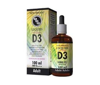 AOR Liquid Vitamin D3 100ml