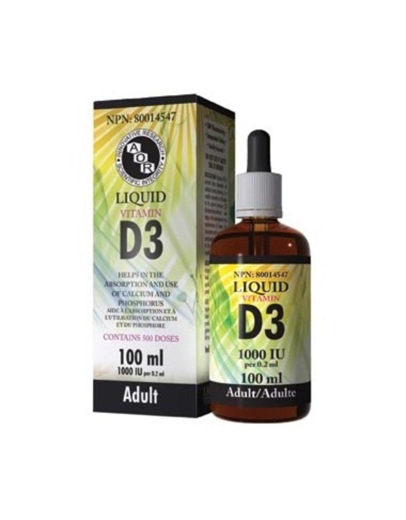 AOR AOR Liquid Vitamin D3 100ml