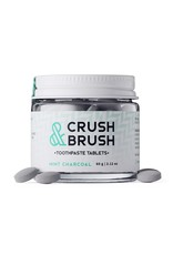Nelson Naturals Crush and Brush Tablets Mint Charcoal 60g