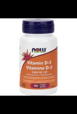 NOW NOW Vitamin D 1000iu 90 softgels
