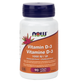 NOW NOW Vitamin D 1000iu 90 softgels