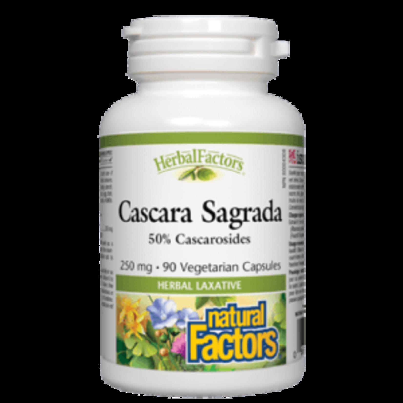 Natural Factors Natural Factors Cascara Sagrada 250mg 90 caps