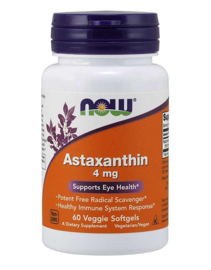 NOW Astaxanthin 4mg 60gels