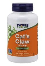NOW NOW Cat's Claw 500mg 100 caps