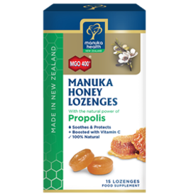 Manuka Health Manuka Health Manuka Honey Lozenges with Propolis 15 lozenges