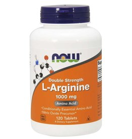 NOW NOW L-Arginine 1000mg 120 tablets