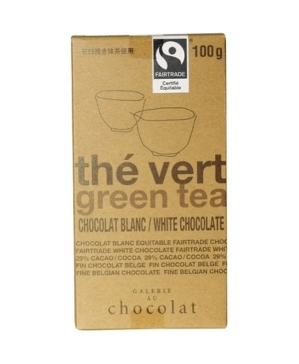 Galerie Au Chocolat Matcha Green Tea 100g