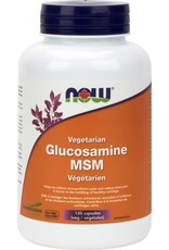 NOW NOW Vegetarian Glucosamine MSM 120 caps