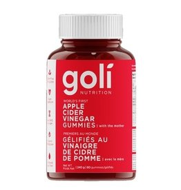 Goli Nutrition Goli Apple Cider Vinegar Gummies 60 gummies