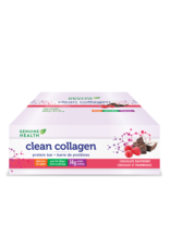 Genuine Health Genuine Health Clean Collagen Protein Bar Chocolate Raspberry Box of 8