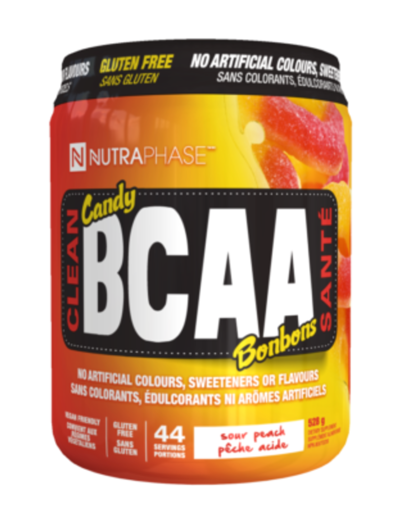Nutraphase Nutraphase Clean BCAA Sour Peach 44 servings