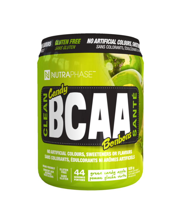 Nutraphase Clean BCAA Green Candy Apple 44 servings