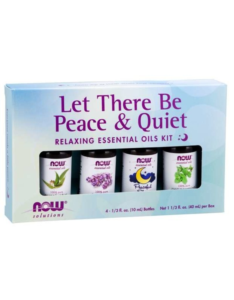 NOW NOW Essential Oil Kit- Let There Be Peace and Quiet