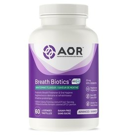 AOR AOR Breath Biotics Wintermint 60 lozenges