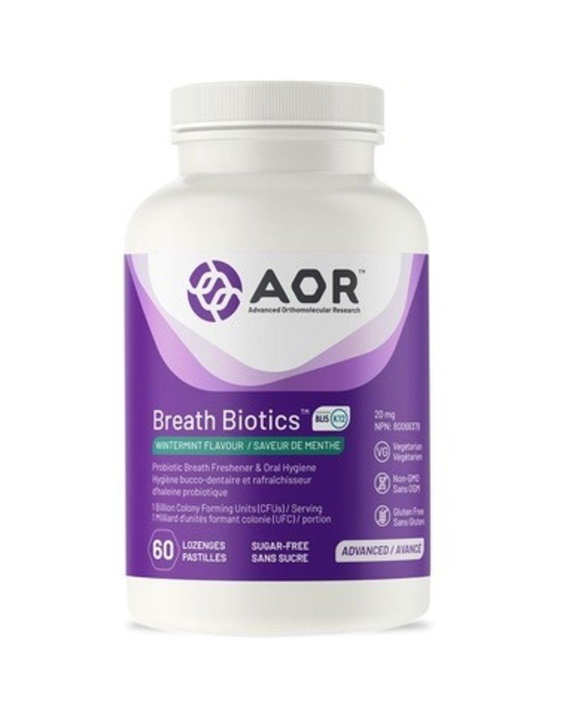 AOR AOR Breath Biotics Wintermint 60 lozenges