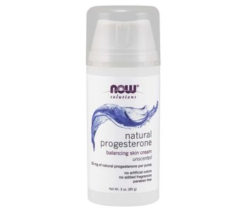 NOW Natural Progesterone Cream 3oz