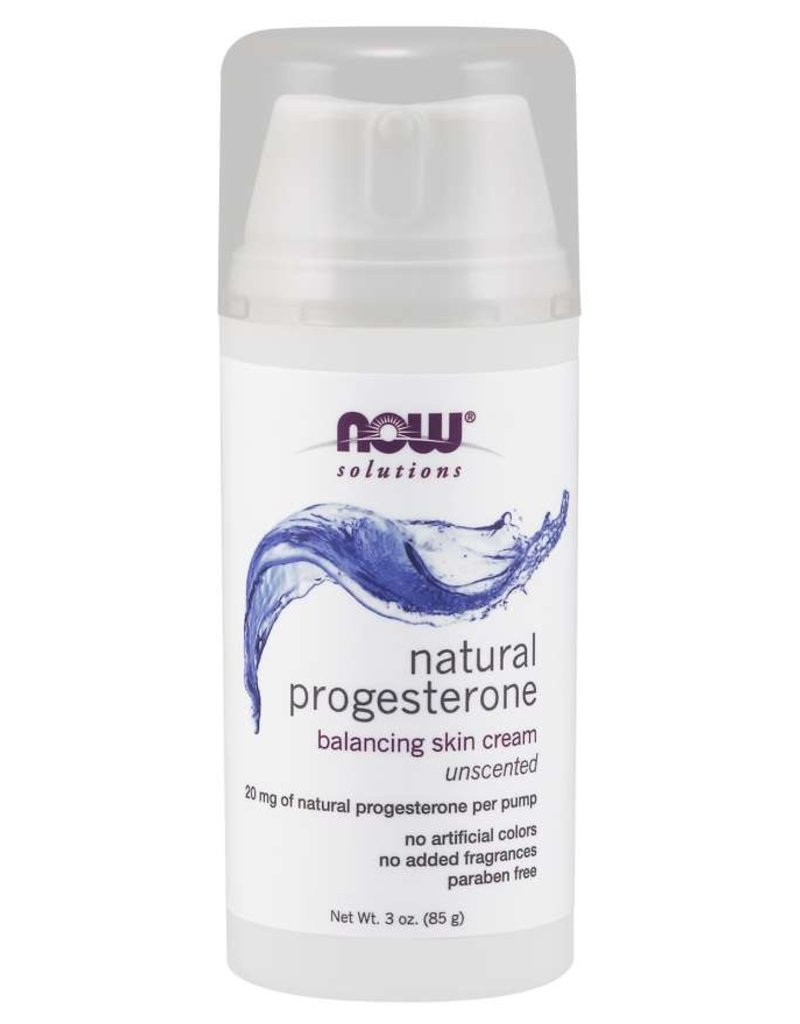 NOW NOW Natural Progesterone Cream 3oz