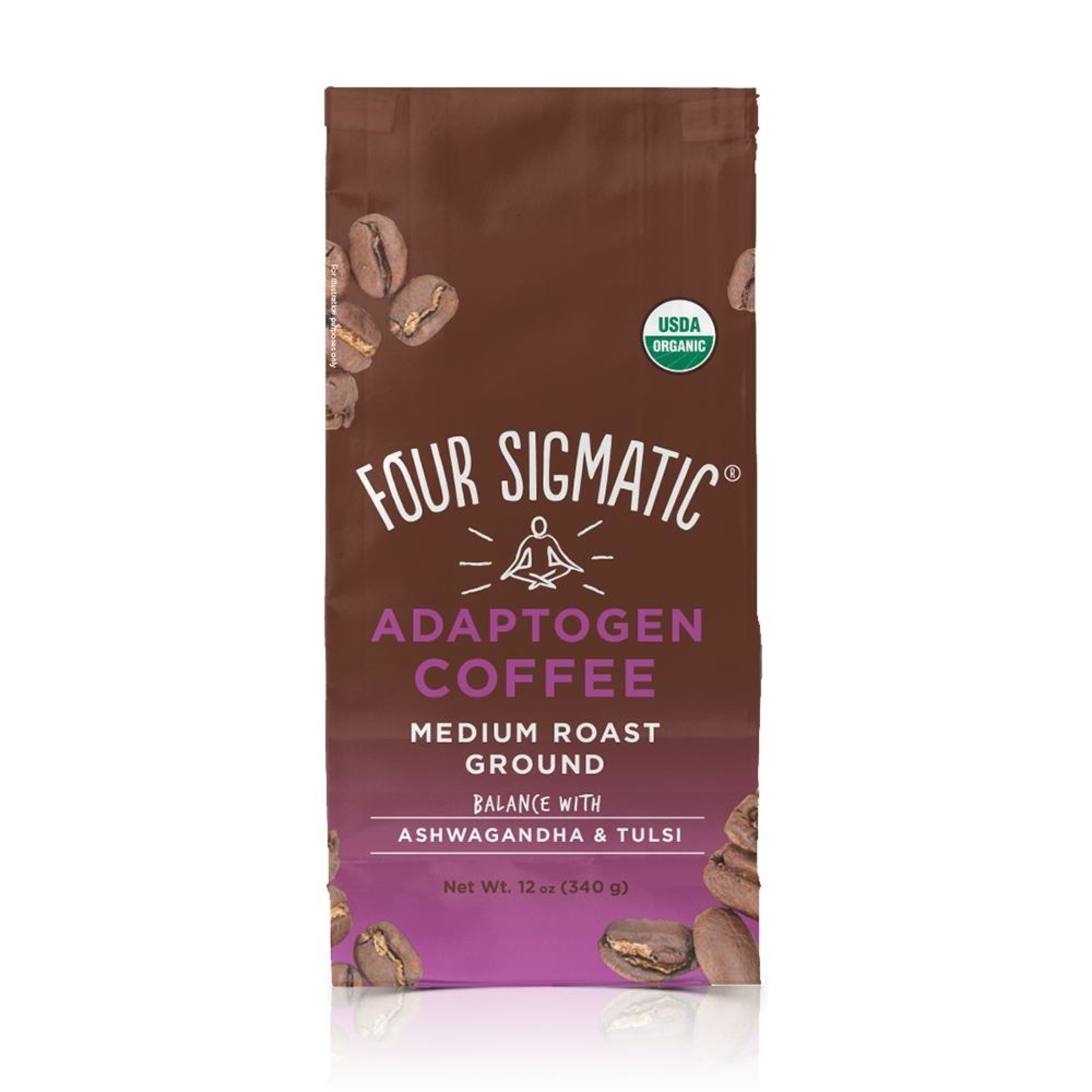 Four Sigmatic Adaptogen Coffee Ground 12oz