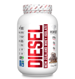 Perfect Sport Diesel New Zealand Whey Protein Isolate - Triple Rich Dark Chocolate 2lb